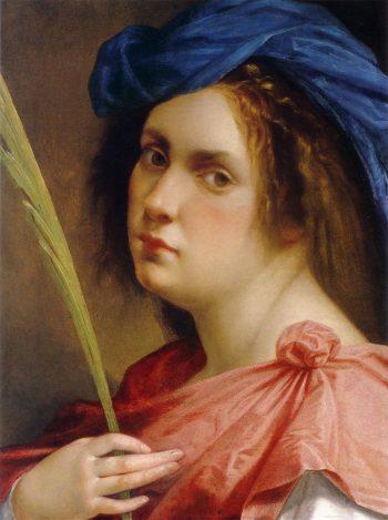 Artemisia Gentileschi, Zelfportret als vrouwelijke martelaar, 1615