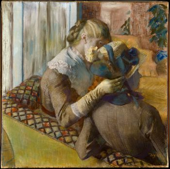 Edgar Degas, At the Milliner's, 1881