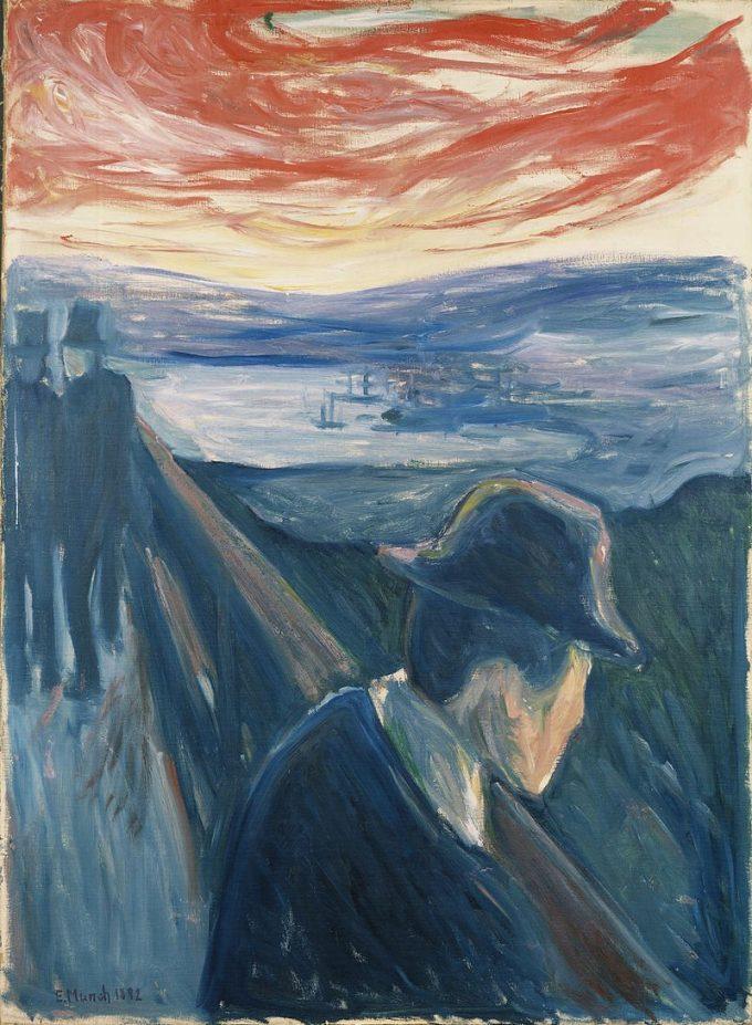 Edvard Munch, Wanhoop, 1892