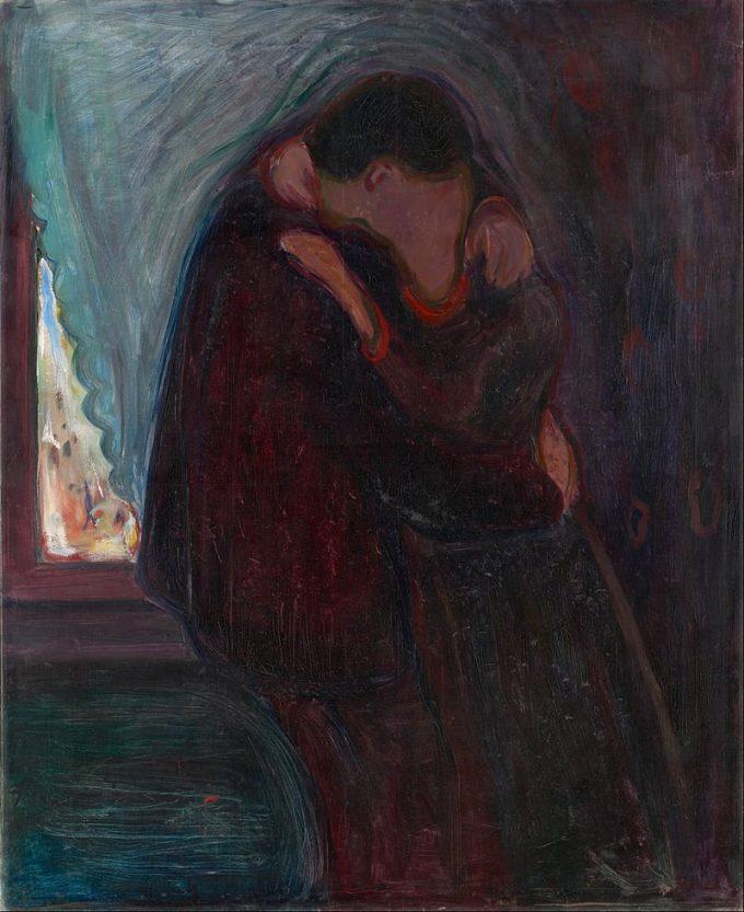 Edvard Munch, De kus, 1897