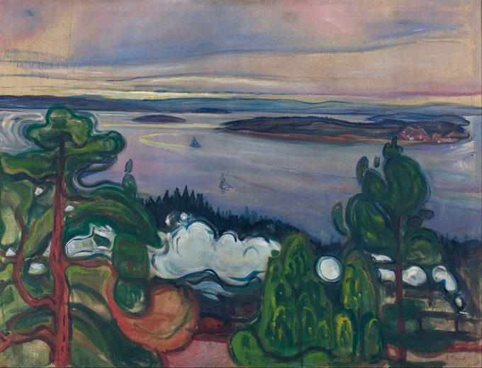 Edvard Munch, Rook van de trein, 1900