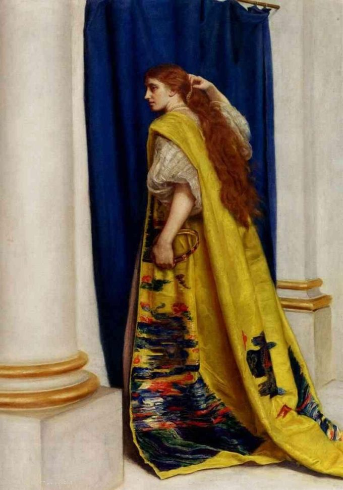 John Everett Millais, Esther, 1865