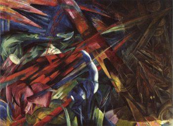 Franz Marc, Het lot der dieren, 1913