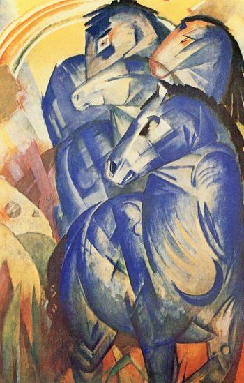 Franz Marc, De toren van blauwe paarden, 1913