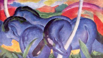 Franz Marc, Blauwe paarden, 1911