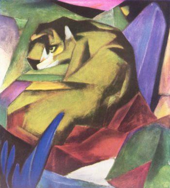 Franz Marc, Tijger, 1912
