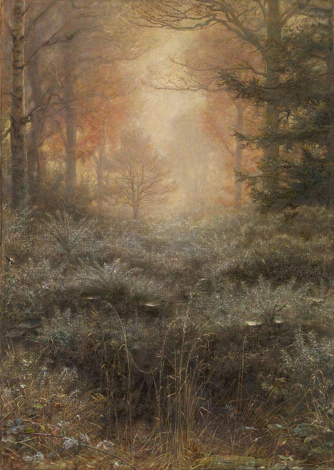 John Everett Millais, Met dauw doordrenkte doornen, 1889