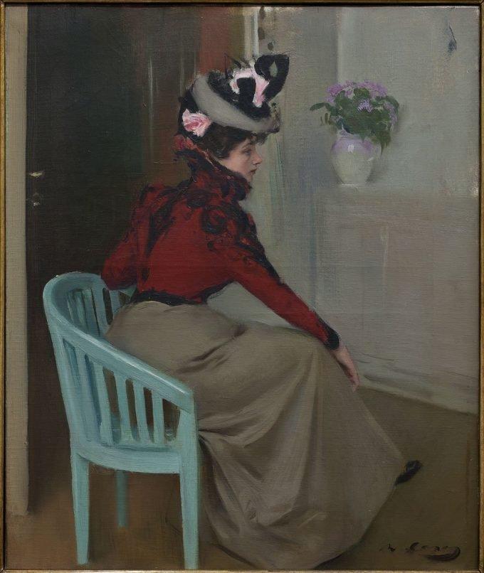 Ramon Casas i Carbó, de Parisienne, 1900