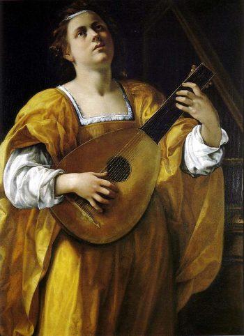 Artemisia Gentileschi, Saint Cecilia, 1620