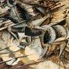 Umberto Boccioni, Het laden van de wapens, 1915