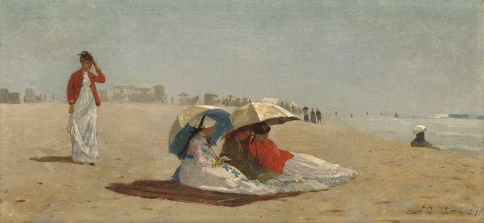 Winslow Homer, Strand bij East Hampton Long Beach, 1874
