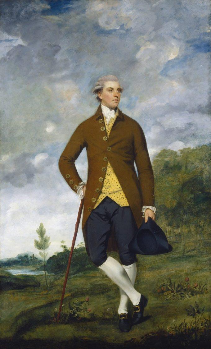 Sir Joshua Reynolds, Portret van John Musters, 1777-1780