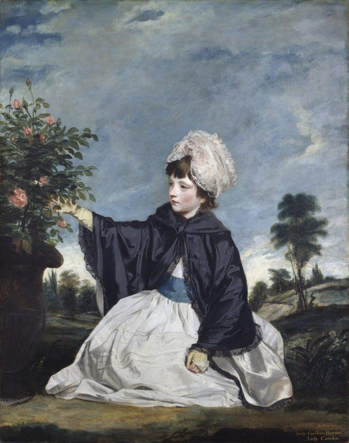 Sir Joshua Reynolds, Portret van Lady Caroline Howard, 1778