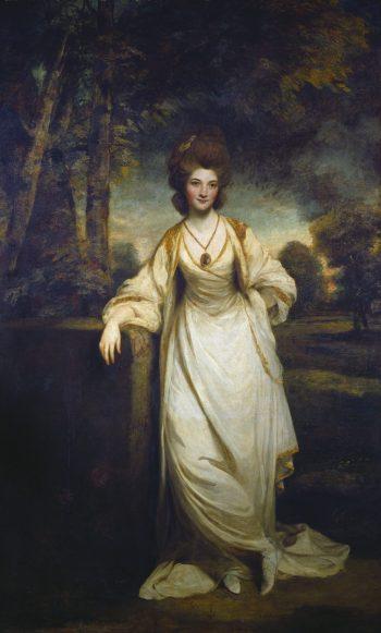 Sir Joshua Reynolds, Portret van Lady Elizabeth Compton, 1780-1782