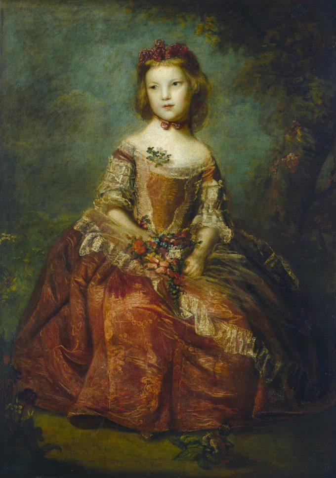 Sir Joshua Reynolds, Portret van Lady Elizabeth Hamilton, 1758