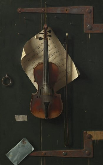 William Michael Harnett, De oude viool, 1886