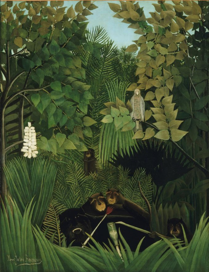 Henri Rousseau, De vrolijke narren, 1906