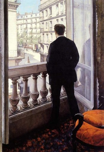 Gustave Caillebotte, Jongeman bij het raam, 1875
