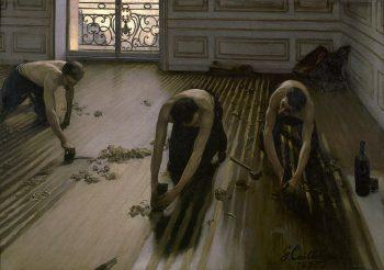 Gustave Caillebotte, De Parketschavers, 1875