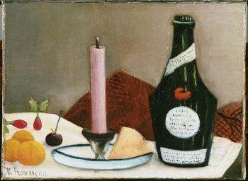 Henri Rousseau, De roze kaars, 1908
