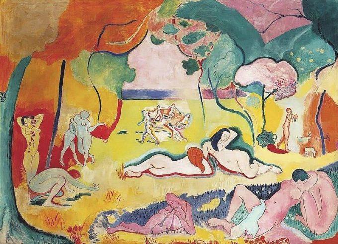 Henri Matisse, De vrolijkheid van het leven, 1905