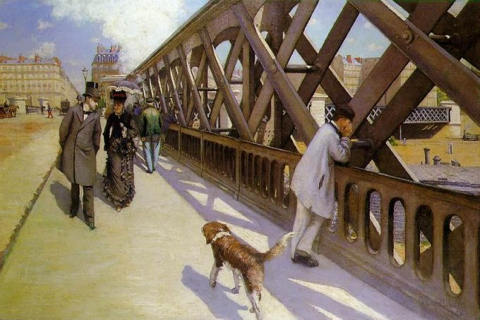 Gustave Caillebotte, Le Pont De l'Europa, 1876