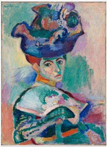 Henri Matisse, Vrouw met een hoed, 1905