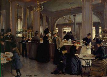 Jean Béraud, La Patisserie Gloppe, 1889