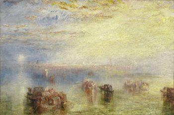 Joseph Mallord William Turner, Venetië in aantocht, 1844