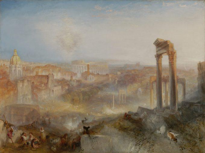 Joseph Mallord William Turner, Modern Rome, Campo Vaccino, 1839