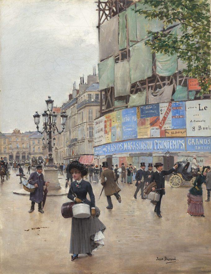 Jean Béraud, Parijs, Rue du Havre, 1882