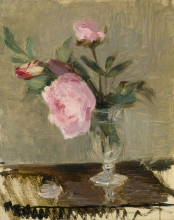 Berthe Morisot, Pioenrozen, 1869