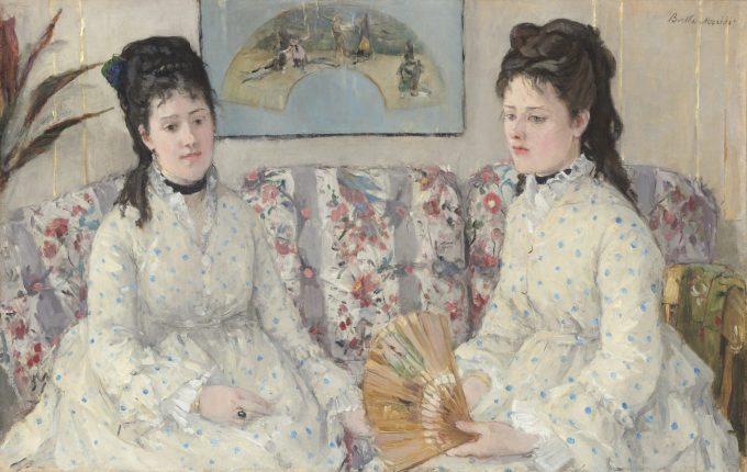 Berthe Morisot, De zussen, 1869