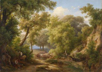 Károly Markó, Bosgebied, 1851