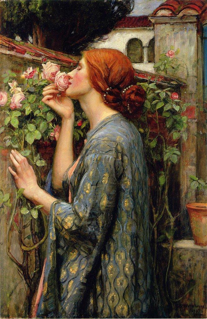 John William Waterhouse, De ziel van de roos, 1903