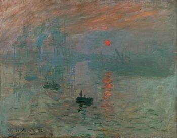 Impression soleil levant, Claude Monet, 1872