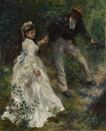 La Promenade, Pierre-Auguste Renoir, 1870