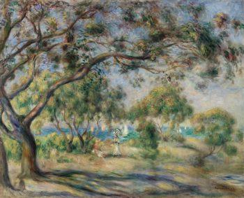 Bois de la Chaise, Pierre-Auguste Renoir, 1892