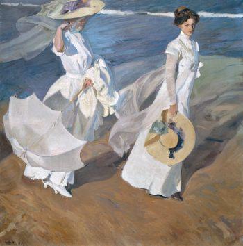 Paseo a orillas del mar, Joaquín Sorolla y Bastida, 1909