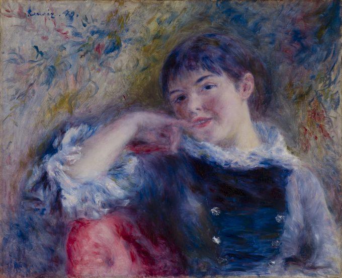 De dromer, Pierre-Auguste Renoir, 1879