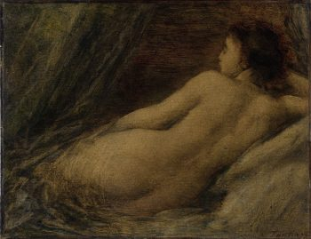 Liggende naakte vrouw, Henri Fantin-Latour, 1874