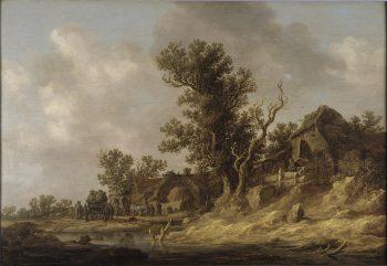 Rusten in een herberg, Jan Josephsz. van Goyen, datum onbekend