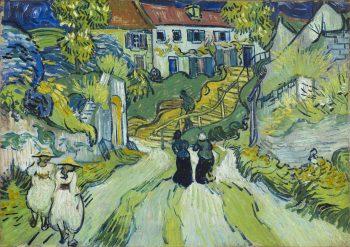 Trap bij Auvers, Vincent van Gogh, 1890