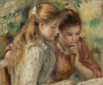 La Lecture, Pierre-Auguste Renoir, 1891