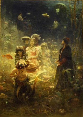 Ilya Repin, Sadko in the Underwater Kingdom, 1876